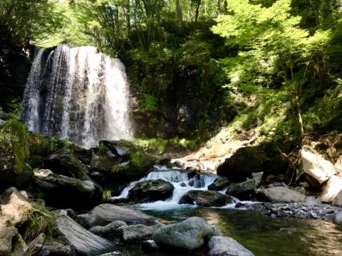 ロケに行ってきました!4K撮影・上田市「唐沢の滝」