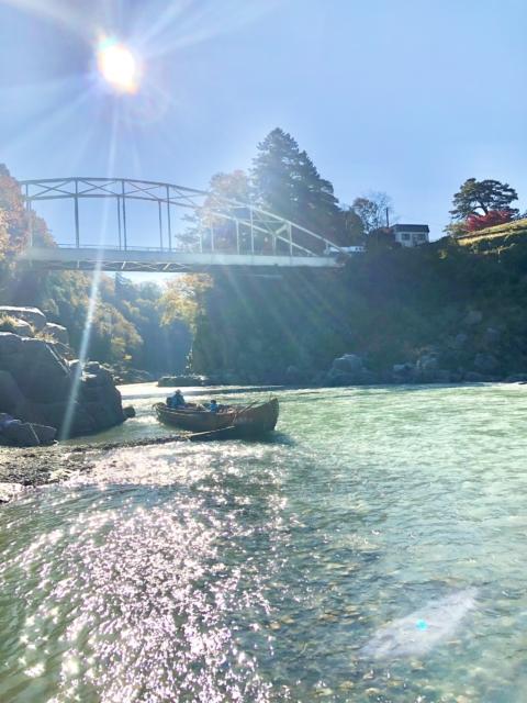 長野県飯田市「天龍峡」で紅葉の撮影をしました
